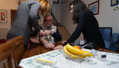 Cure a domicilio per i malati oncologici di ANT