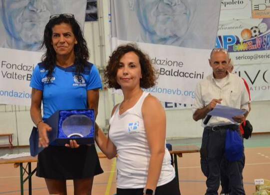 Running for Valter Baldaccini