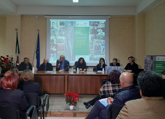 Valter Baldaccini's book presented in Albanella