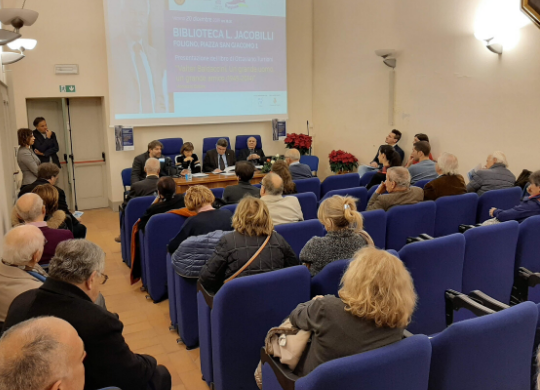 Presentation of Valter Baldaccini's book in Foligno