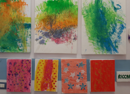 An art therapy project with the Seraphic children