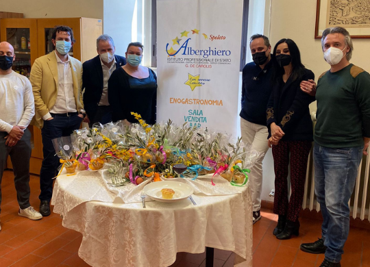 Easter with the Hotel Institute of Spoleto