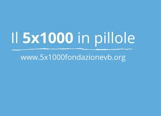 5x1000: perché è importante donarlo