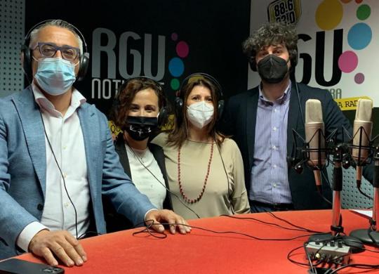 Beatrice Baldaccini e Antonio Baldaccini intervistati da RGU per il sesto anniversario della Fondazione