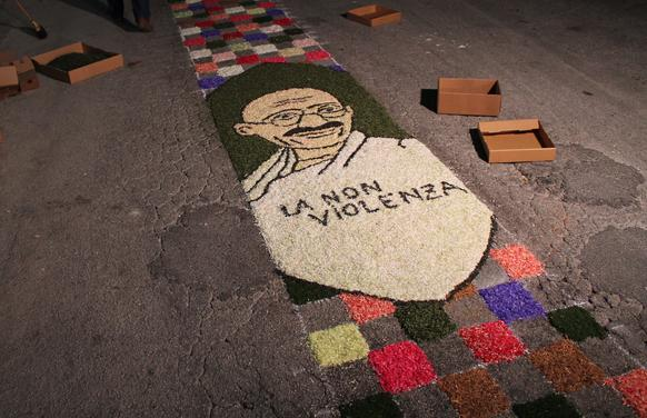 The Foundation also joins the Infiorata of Cannara 2018