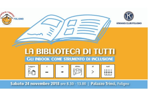"Conference ""The Library for Everyone: Inbooks as an instrument of inclusion"""