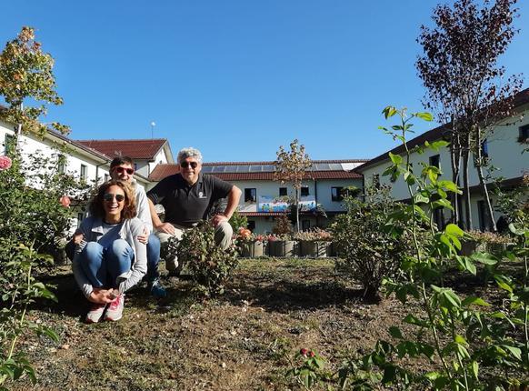 I volontari della Fondazione in Kosovo
