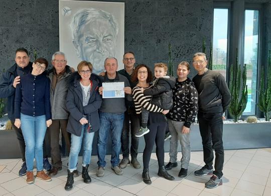 The Friends of the Bonsai Club donate a Work Grant