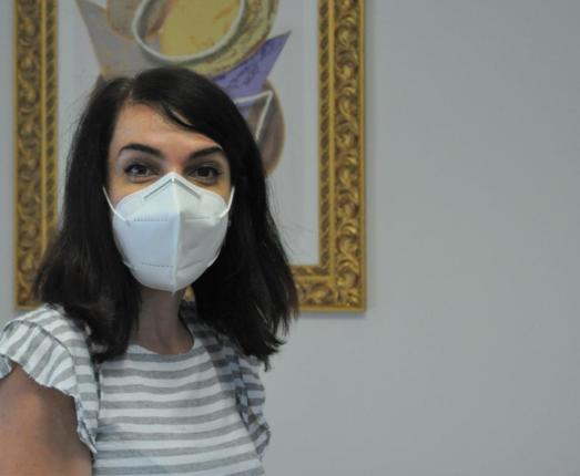 Il sorriso della dottoressa Paola