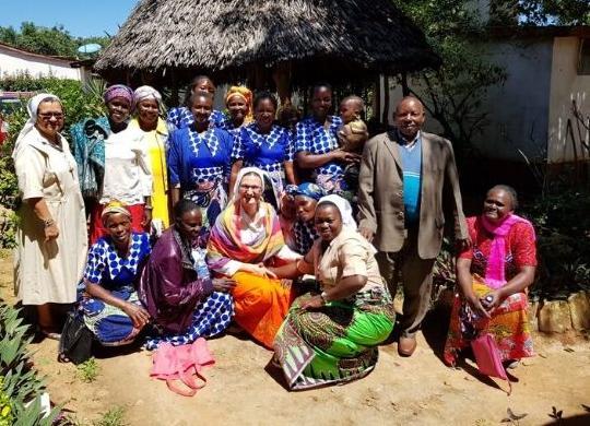 L'orto delle donne di Mutanu continua a crescere