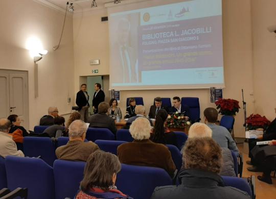Presentazione del libro di Valter Baldaccini a Foligno