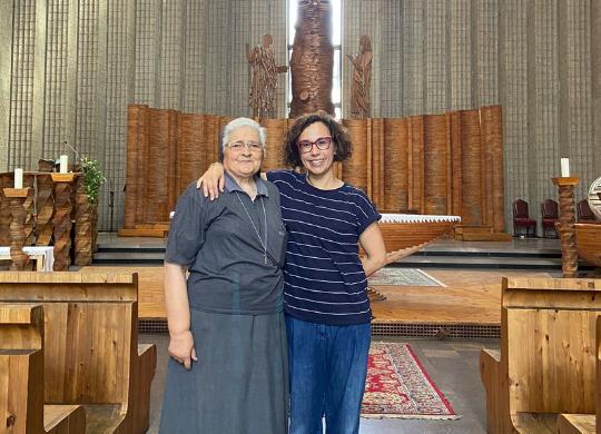 La nostra Presidente Beatrice Baldaccini raddoppia il sostegno al progetto di Tor Bella Monaca
