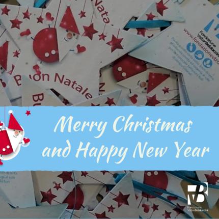 Tanti auguri di buon Natale e felice anno nuovo