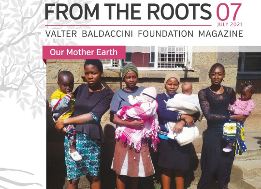 """The July issue of our periodical """"From the Roots"""""""