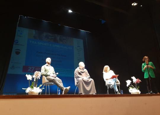 Un incontro dedicato allo sport e alla spiritualità