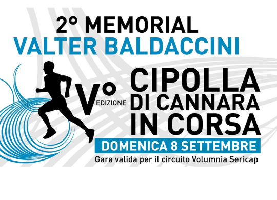 A race at the Onion Festival in memory of Valter Baldaccini
