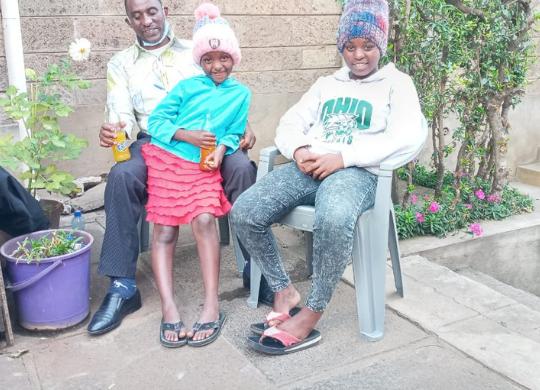 Close to Kamande, Sophia and Leah and the Mathare nuns
